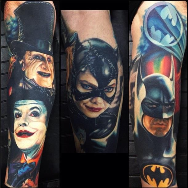 1989 Batman Film Batman Tattoos Pinterest Batman Ideas And Designs