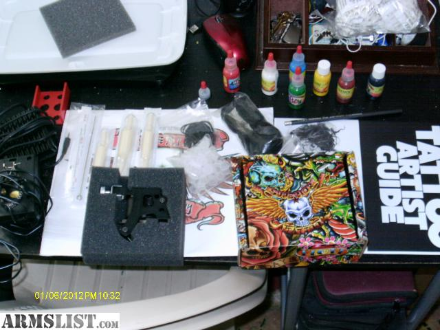 Armslist For Sale Trade Never Used Superior Tattoo Kit Ideas And Designs