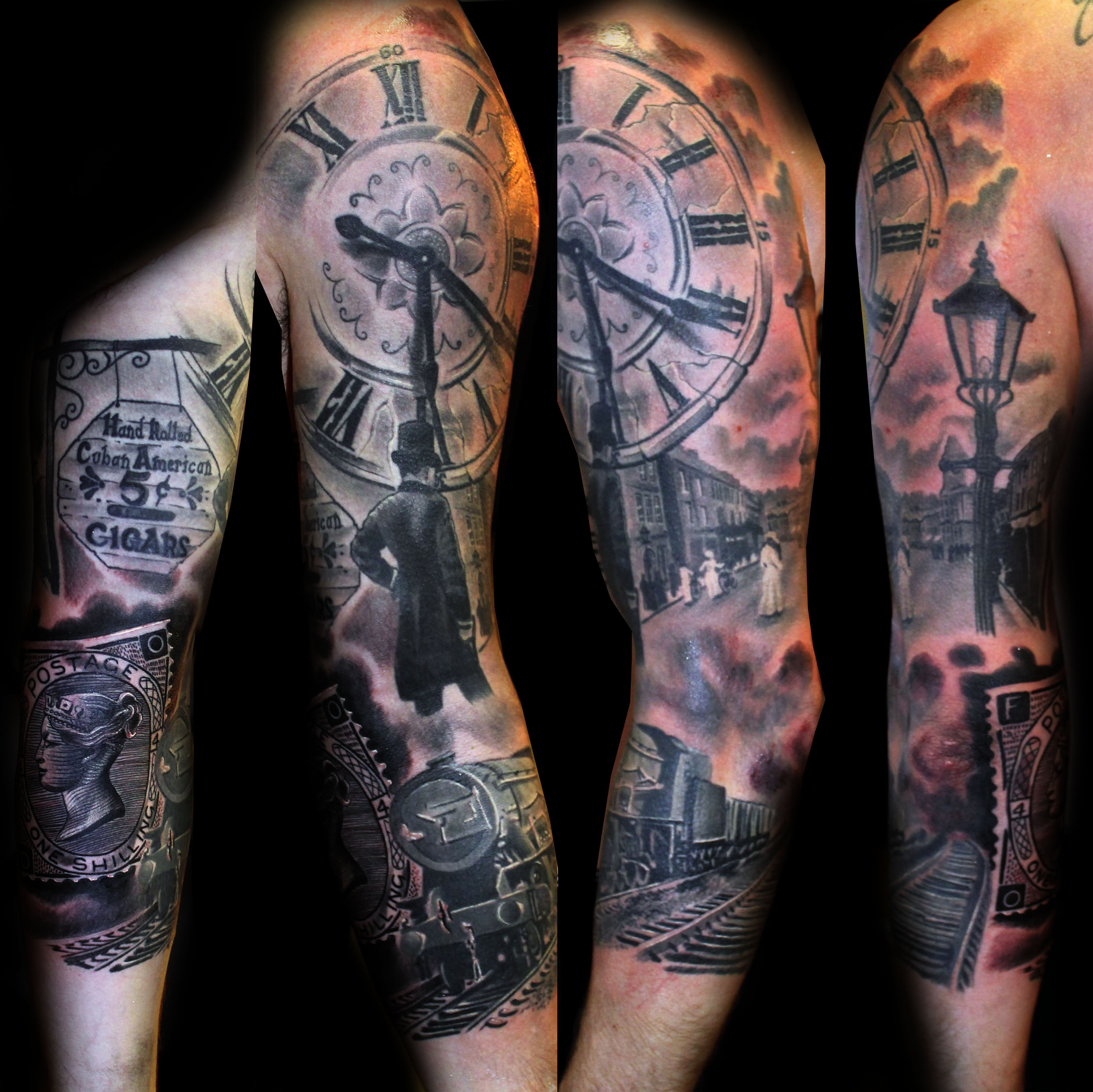 28 Olde Town Tattoo Tiger By Town Ink Bubba Irwin Dj Ideas And Designs Original 1024 x 768