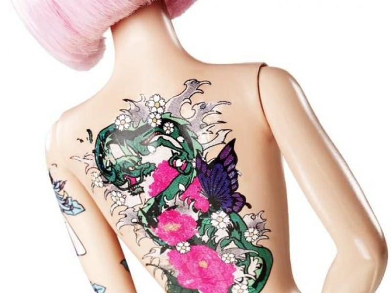 The Banning Of Controversial Tattooed Barbie Dolls Tattoodo Ideas And Designs