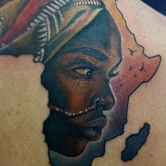 20 Powerful Africa Tattoos Tattoodo Ideas And Designs