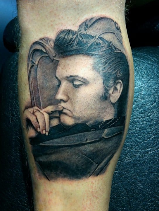 The King In Ink 20 Elvis Presley Tattoos Tattoodo Ideas And Designs
