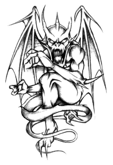 7 Monster Tattoo Designs And Ideas Ideas And Designs