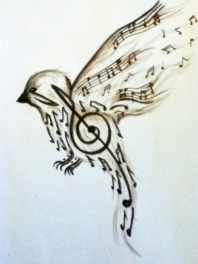 3 Music Tattoo Designs Samples And Ideas Ideas And Designs