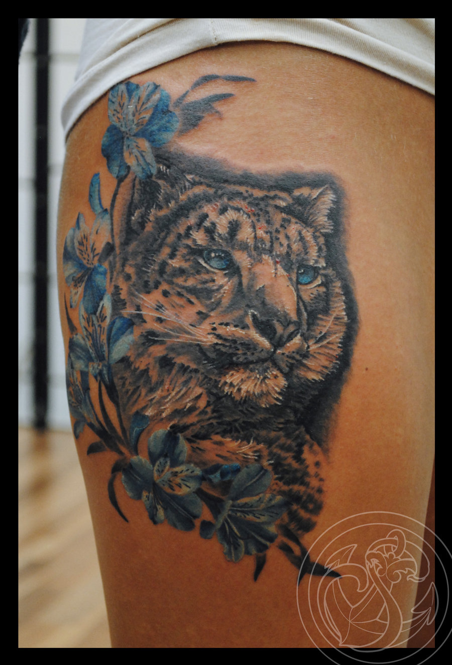 11 Snow Leopard Tattoo Designs Images And Picture Ideas Ideas And Designs