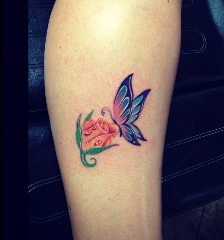 37 Inspiring Butterfly And Rose Tattoos Ideas And Designs