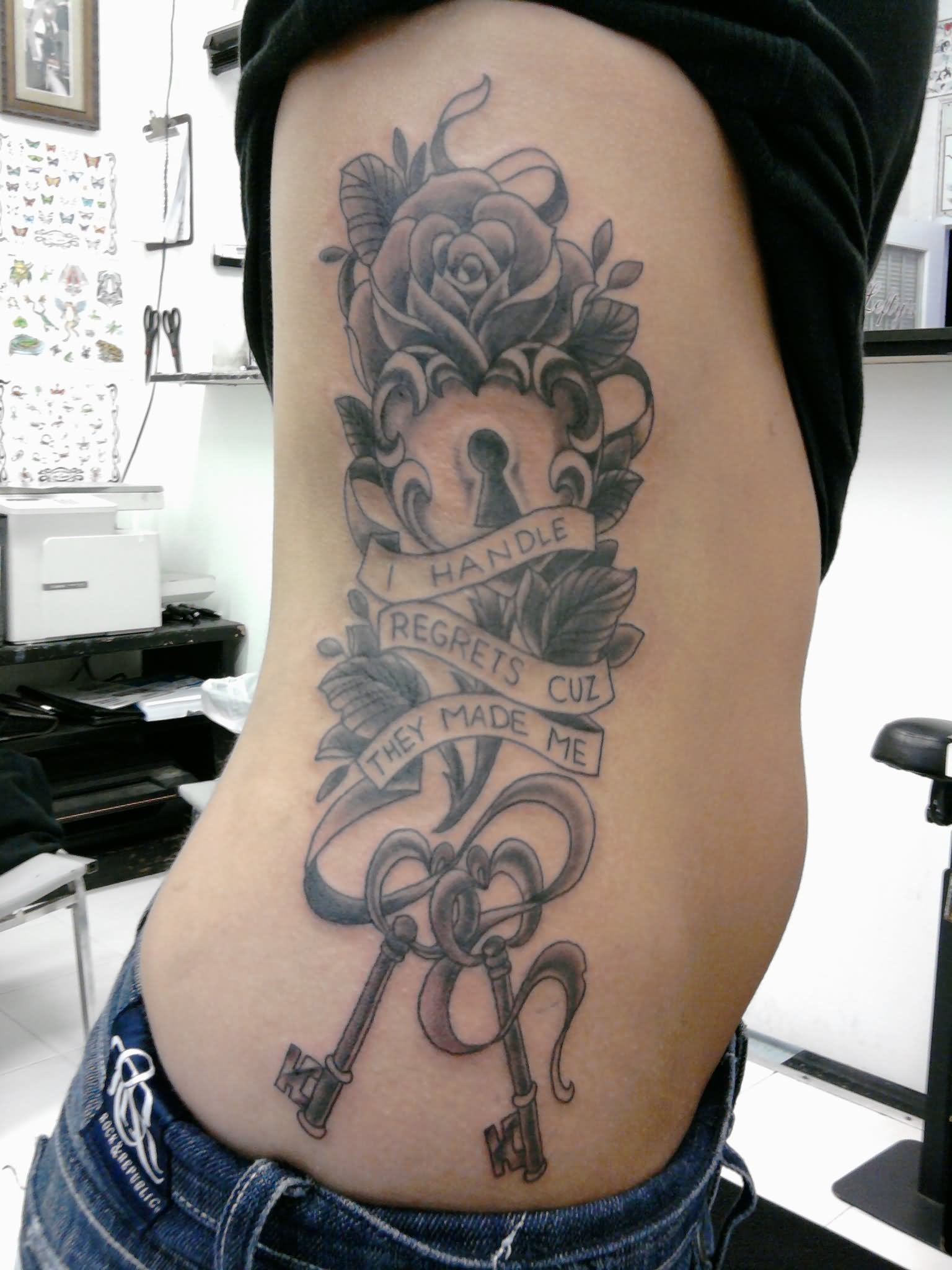 27 Awesome Lock And Key Tattoos Ideas Ideas And Designs