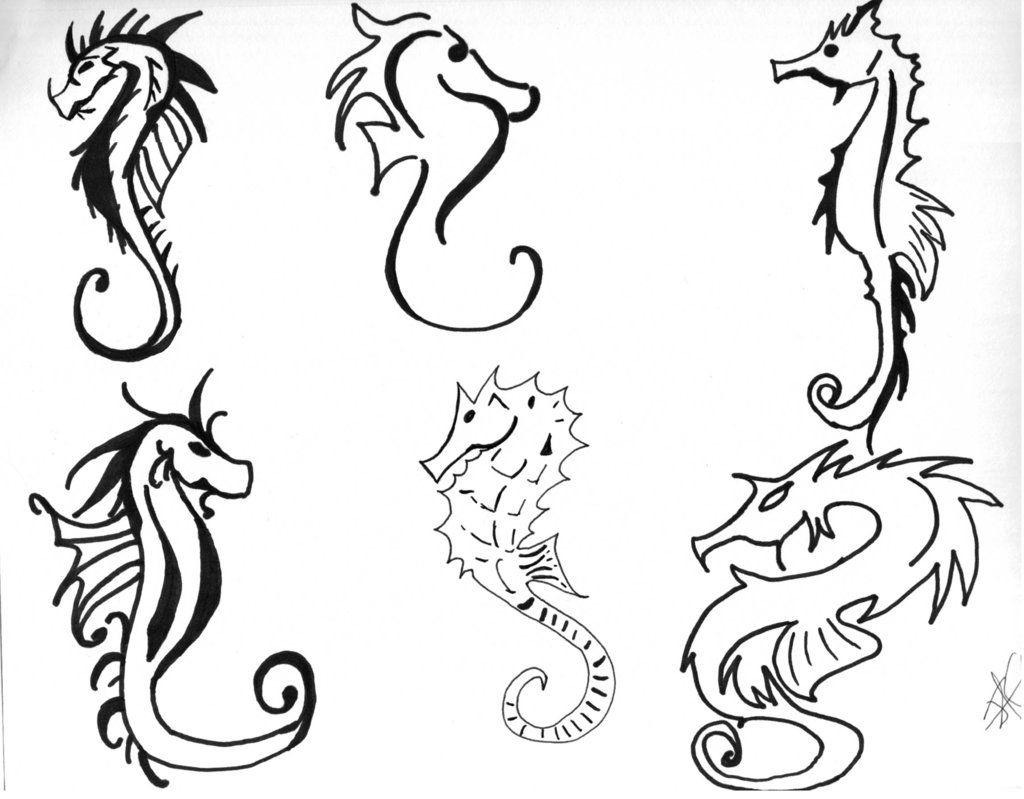 65 Best Seahorse Tattoos Ideas And Designs