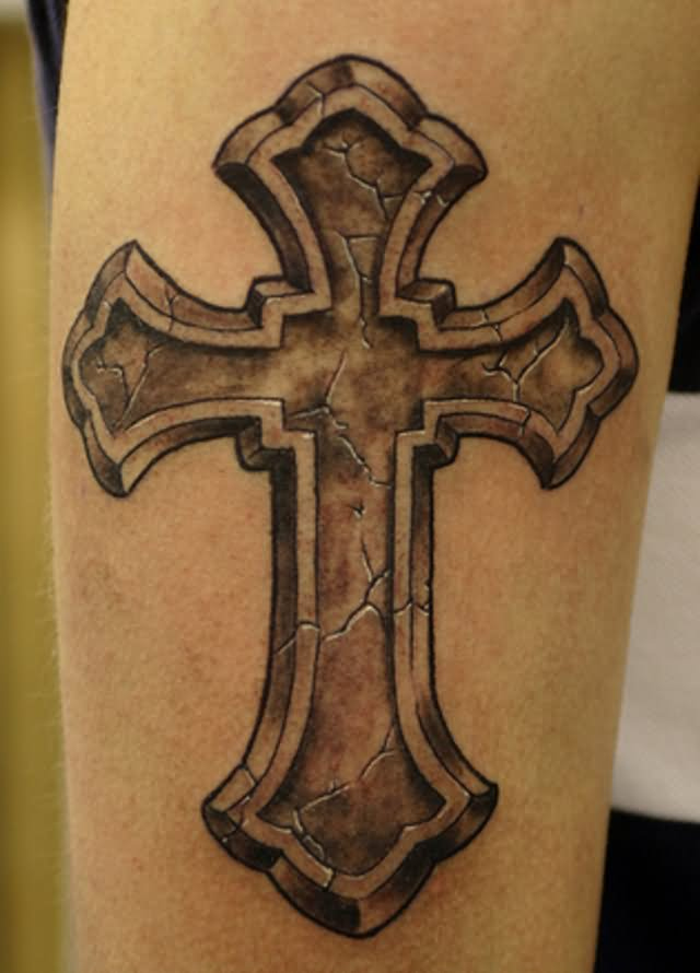 105 Beautiful 3D Cross Tattoo Ideas And Designs