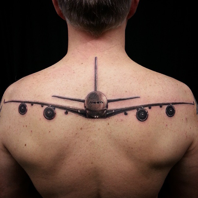80 Cool Airplane Tattoos Ideas And Designs