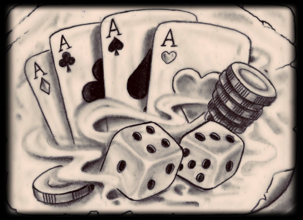 20 Latest Gambling Tattoo Designs Ideas And Designs