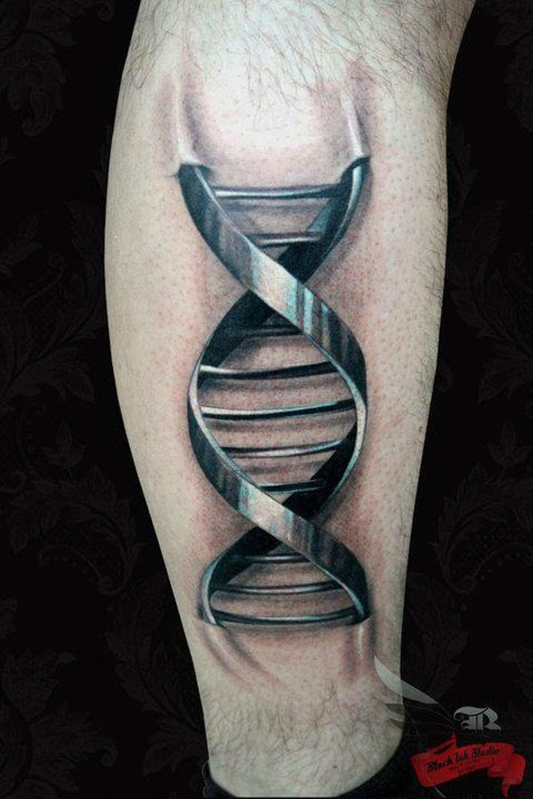 32 Beautiful 3D Leg Tattoos Ideas And Designs