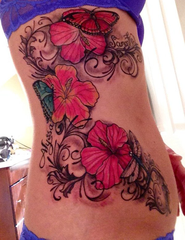 28 Tribal Hibiscus Tattoos Ideas Ideas And Designs