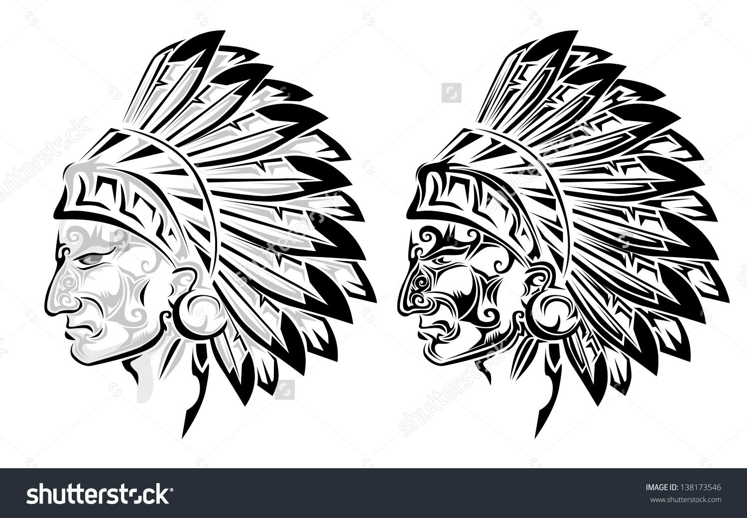 26 Indian Chief Tattoos And Designs Ideas Ideas And Designs
