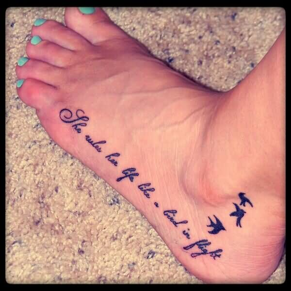 48 Famous Bird Foot Tattoos Ideas And Designs