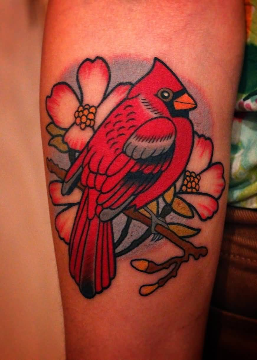 Cardinal Tattoo On Side Rib Ideas And Designs