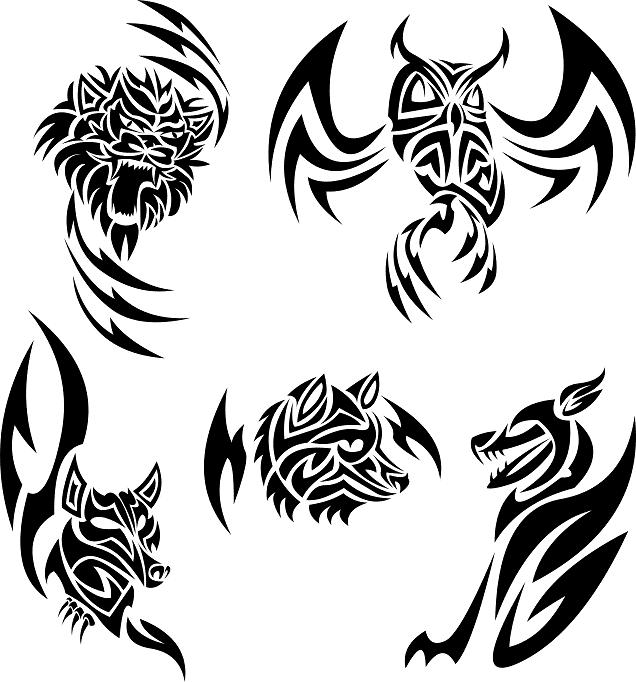13 Animal Tribal Tattoo Designs Ideas And Designs