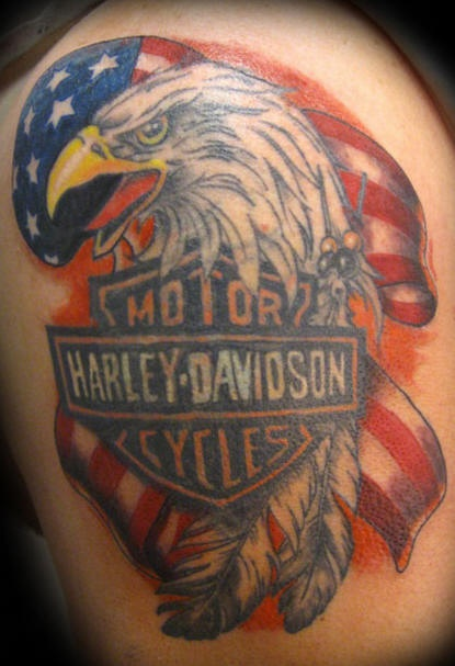 52 Awesome Harley Tattoos Ideas And Designs
