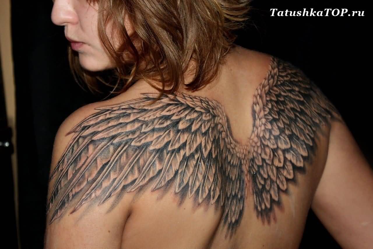 40 Angel Wings Tattoos On Back Ideas And Designs