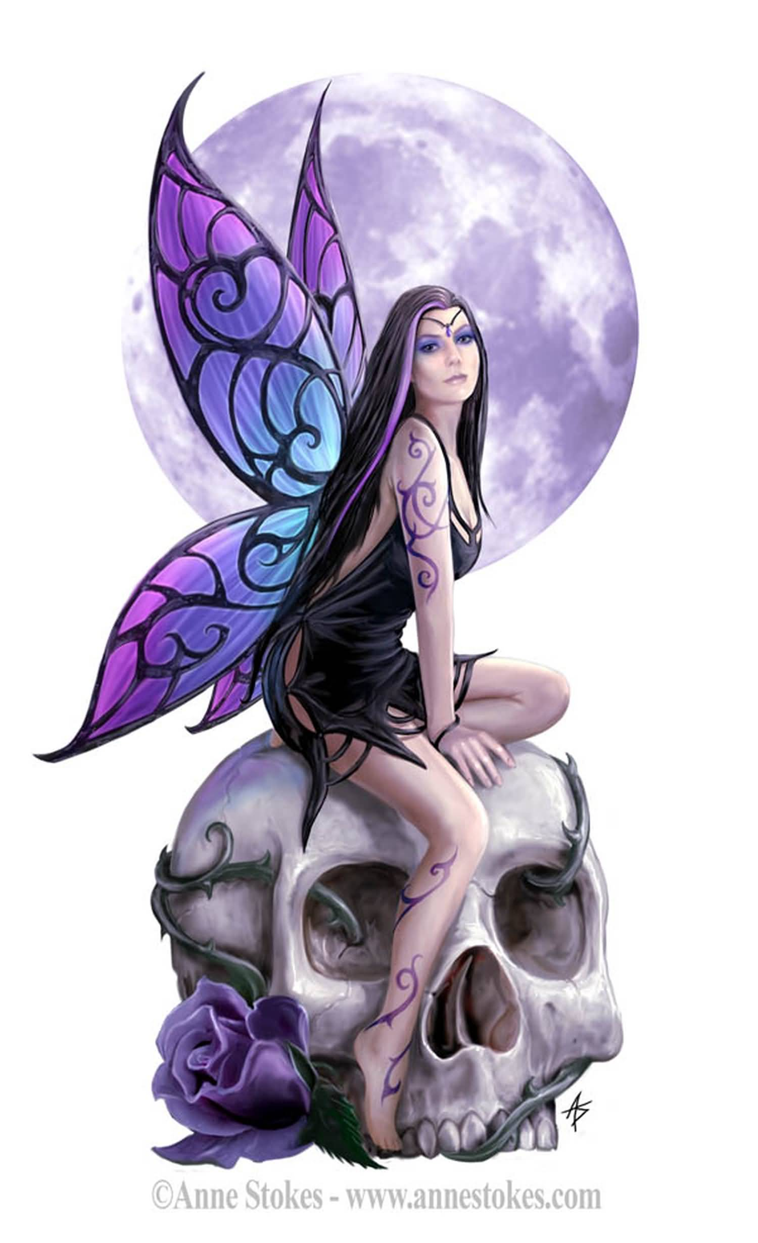 51 Gothic Fairy Tattoos Collection Ideas And Designs