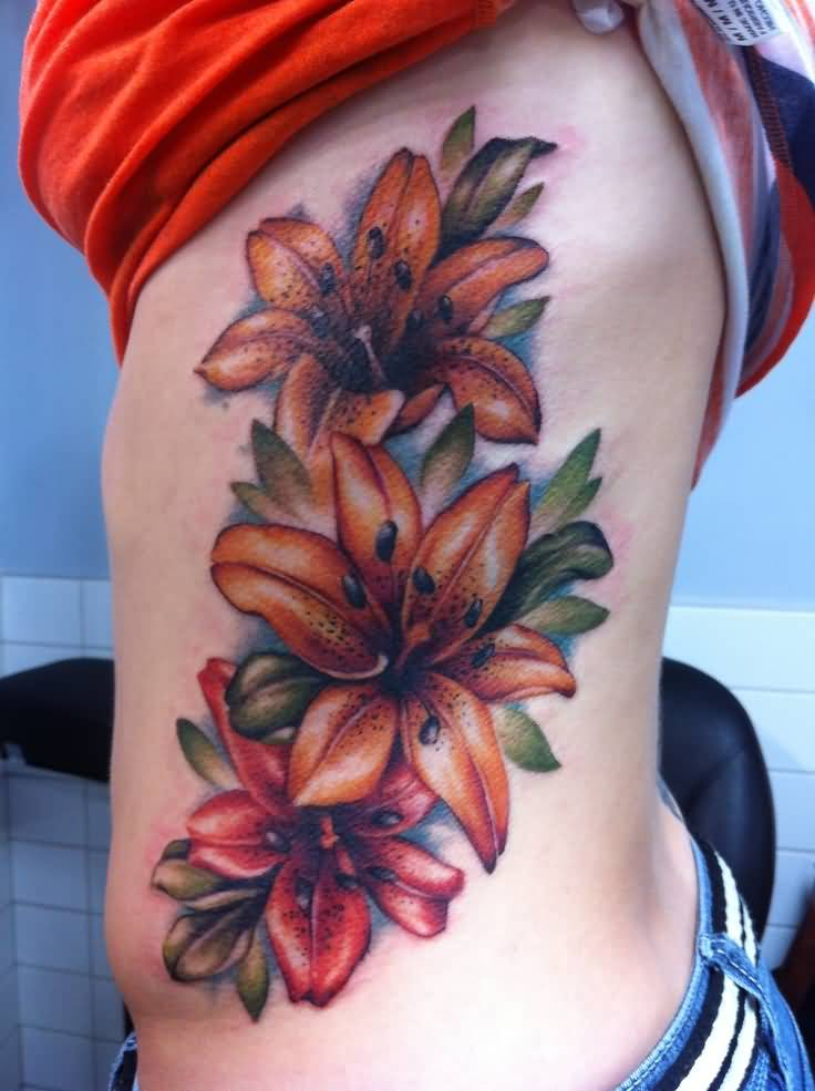 59 Beautiful Tiger Lily Tattoos Ideas Ideas And Designs