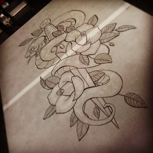 42 Neo Traditional Snake Tattoos Ideas And Designs