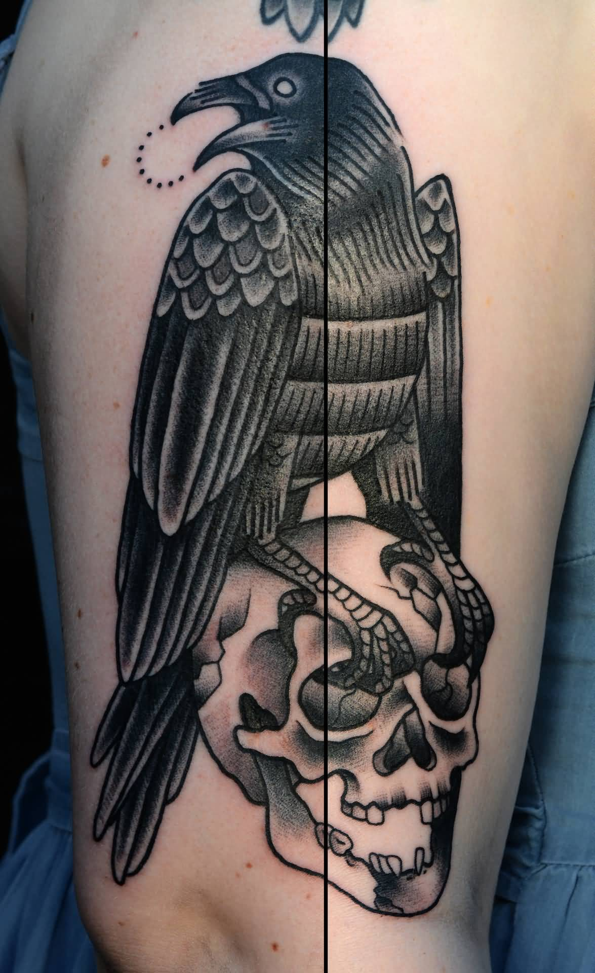 38 Latest Crow Tattoos Collection Ideas And Designs