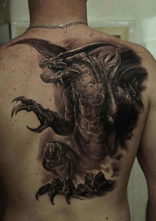 29 Amazing Dragon Tattoos Designs And Pictures Ideas Ideas And Designs