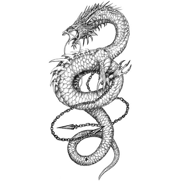 53 Most Beautiful Chinese Dragon Tattoos Designs Ideas And Designs