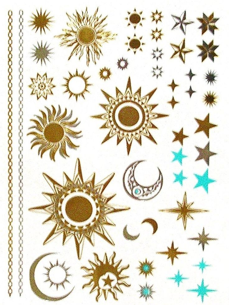 60 Star And Sun Tattoos Ideas With Meaning Ideas And Designs