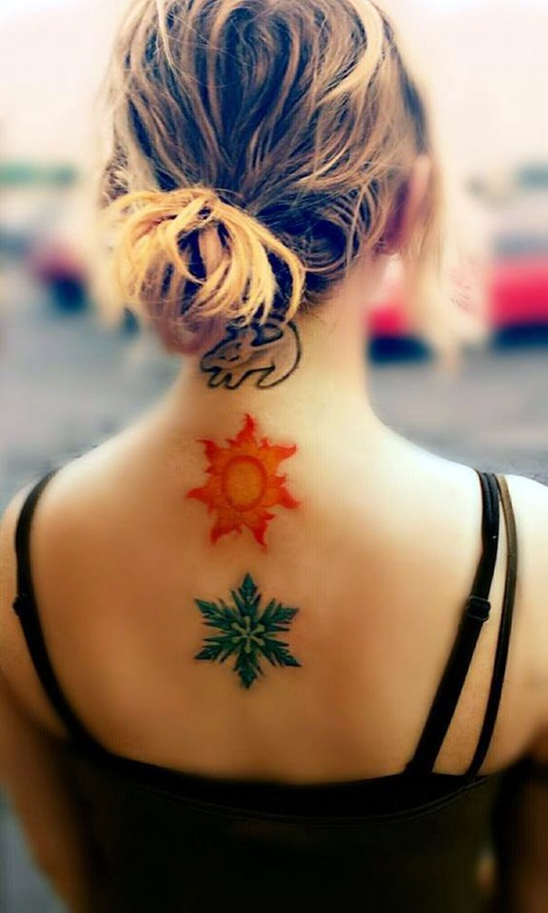 40 Cute And Artsy Snowflake Tattoos Bored Art Ideas And Designs