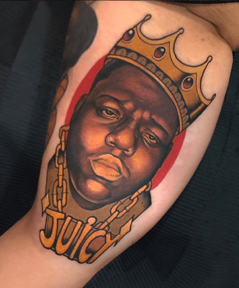 20 Dope Biggie Smalls Tattoos Tattoo Ideas Artists And Ideas And Designs