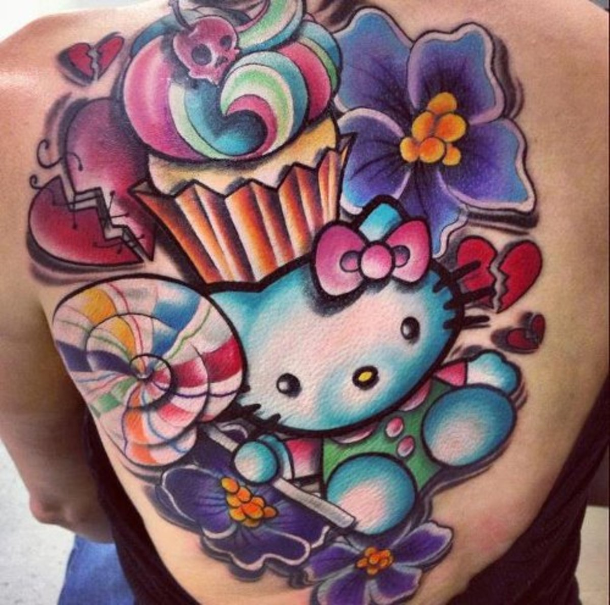 Hello Kitty Tattoos Tattoo Ideas Artists And Models Ideas And Designs