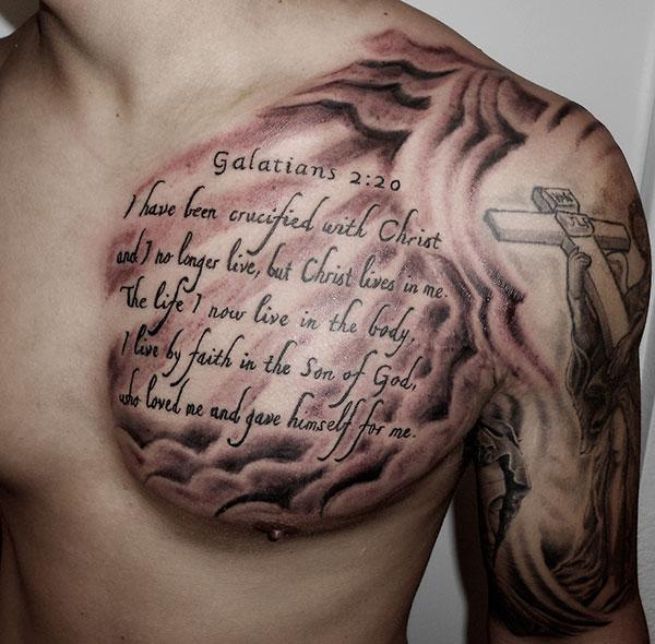 I Walk Through Valley Shadow Death Tattoos