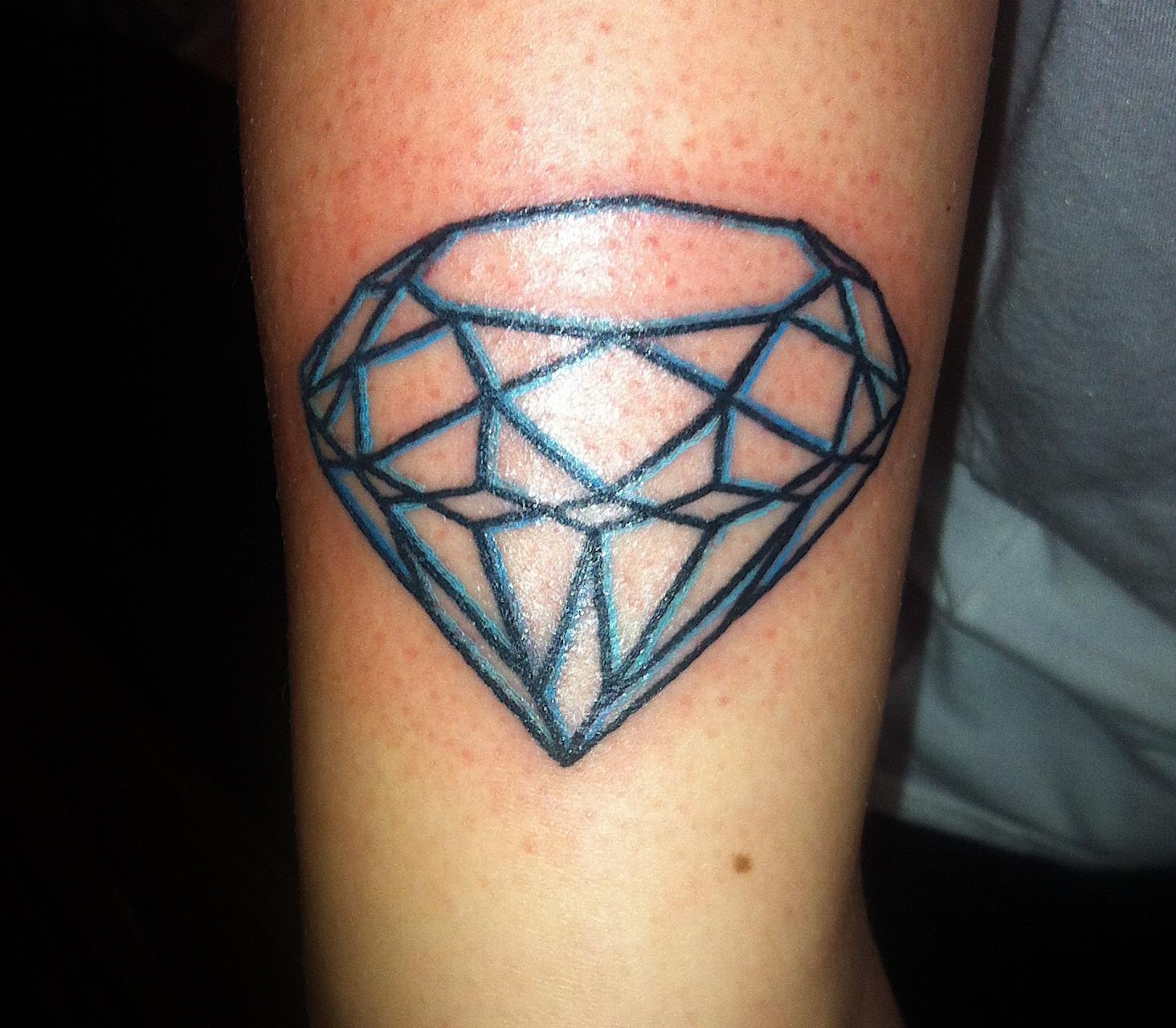 Simple Diamond Tattoo Design   Novocom.top