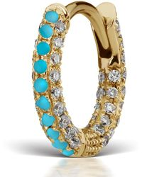 maria-tash-small-turquoise-and-diamond-five-row-pave-earring