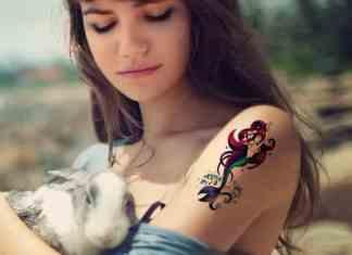 mermaid tattoos for girls