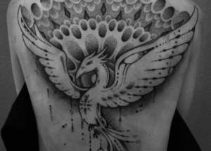 46 Awesome Phoenix Tattoos Designs and Ideas