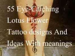 Best lotus tattoos designs ideas