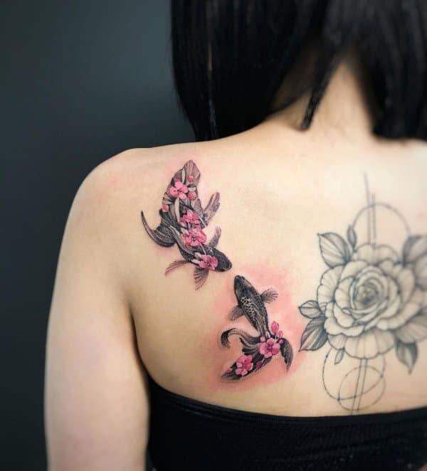 fish tattoos for ladies