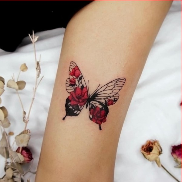 cute butterfly tattoos