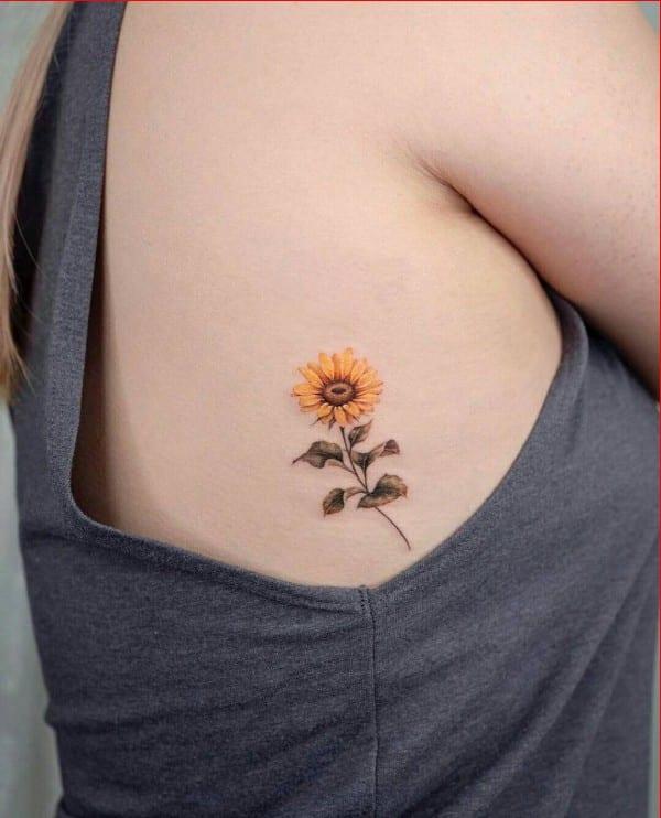 ribs tattoo ideas for girls