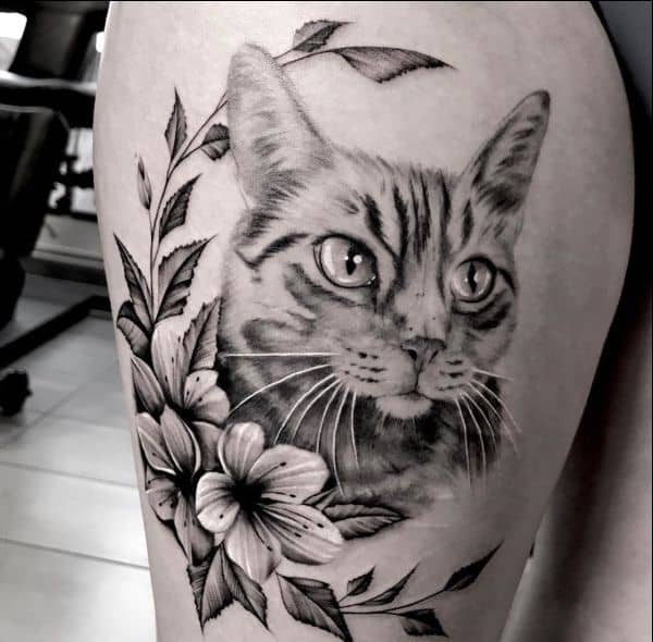 62 Cute And Lovely Cat Tattoos For Men And Women
