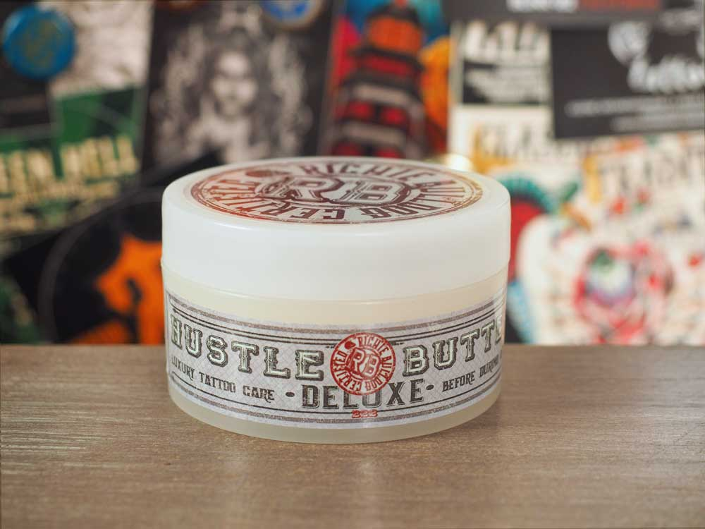 Hustle Butter Deluxe Tattoo Precare