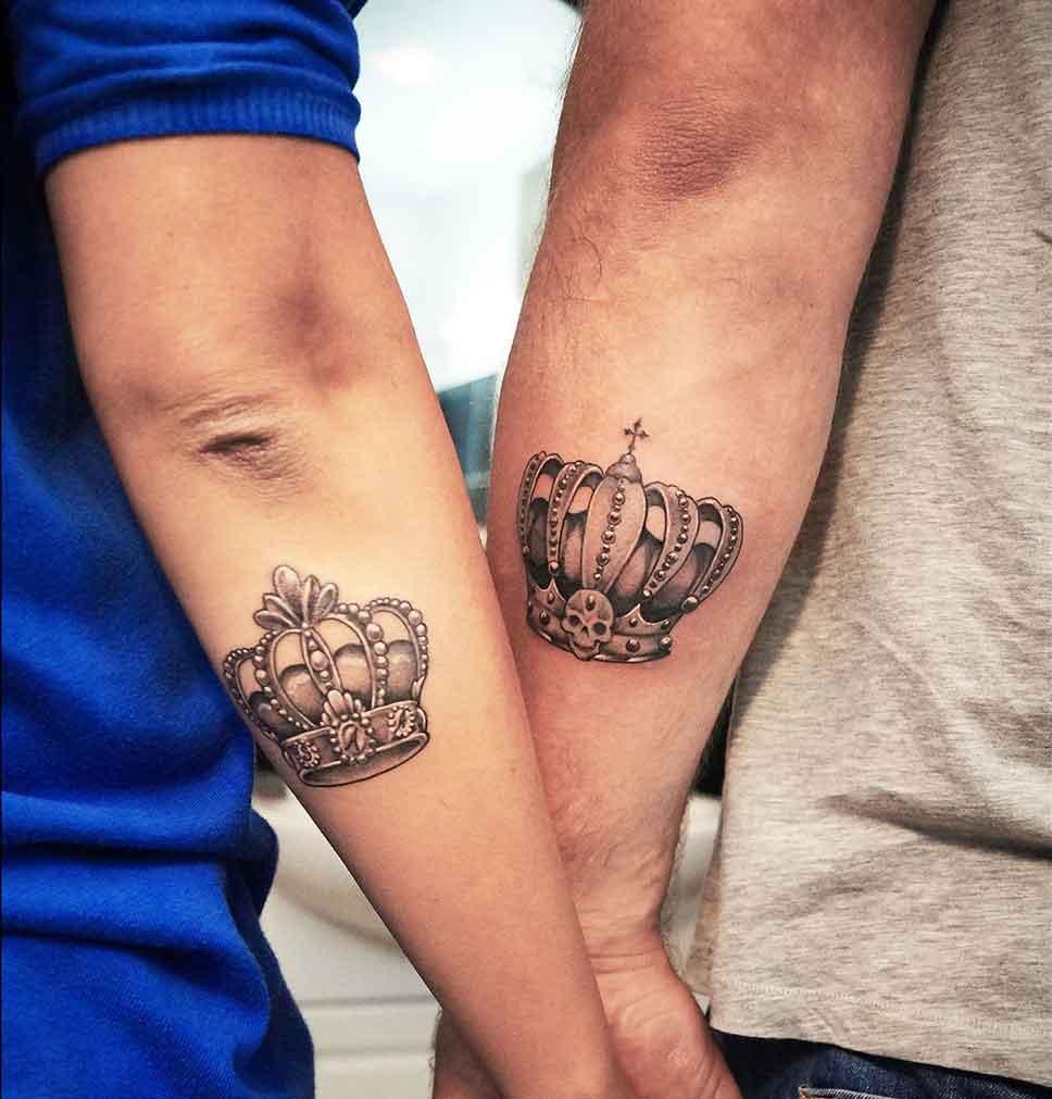 парные татуировки для влюбленных и друзей фото примеры значения