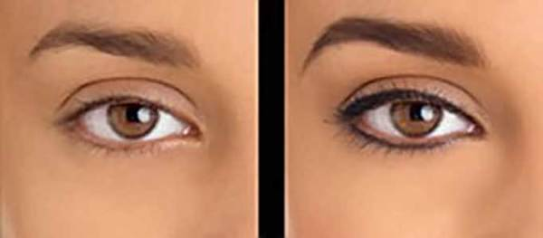 Татуаж глаз фото до и после татуажа татуаж век фото до и после