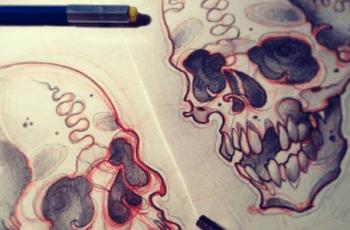 Diseños de Tatuajes en Papel