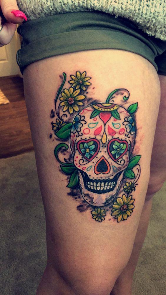 De Muerte Imagenes Tatuajes Santa La