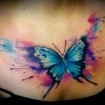 tatuajes de mariposas para mujeres