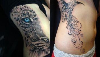 Tatuajes En El Abdomen Para Mujer 20 Diseños De Flores Mandalas